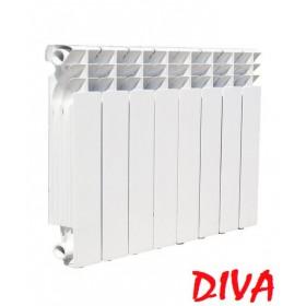 Алюминиевые радиаторы DIVA 500/96