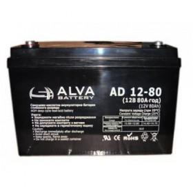 Аккумуляторная батарея AD12-80 ALVA