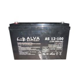 Аккумуляторная батарея AS12-100 ALVA