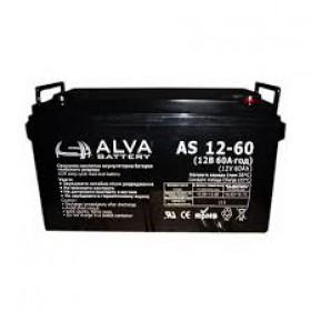 Аккумуляторная батарея AS12-60 ALVA