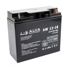 Аккумуляторная батарея AW12-18 ALVA