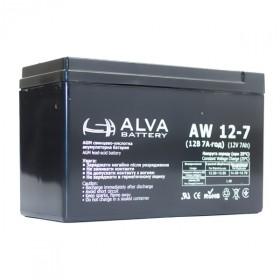 Аккумуляторная батарея AW12-7 ALVA