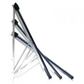 Нерегулируемая задняя опора для гелиосистем 45° (на 20 труб)