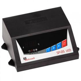 Автоматика KG Elektronik SP-05 LCD для твердотопливного котла