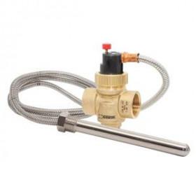 """Защитный термостатический клапан перегрева Esbe VST 212 3/4"""", датчик 1/2"""" 95°C, щуп 150 мм, капилляр 1300 мм (арт. 36028000)"""