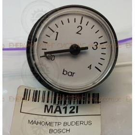 МАНОМЕТР BUDERUS BOSCH