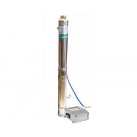 Скважинный насос SHIMGE 3SGm1.8/27 750Вт H=115(88)м Q=2,7(1,8)куб.м/час Ø80мм 50м кабеля
