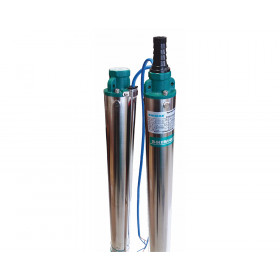 Скважинный насос SHIMGE 3SEm2.5/20T 750Вт H=83(63)м Q=3,6(2,4)куб.м/час Ø80мм 50м кабеля