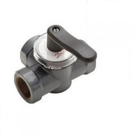 Клапан чугунный трехходовой поворотный Danfoss HFE3 PN6 1