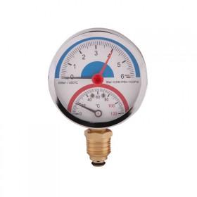 Термоманометр SD Plus 80 мм 1/2