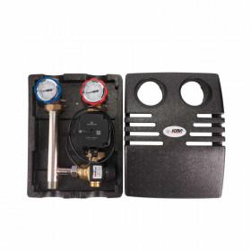 Насосная группа Icma №R004 с термостатическим смесителем без насоса 1