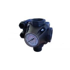 Реле давления Italtecnica PM 5-3W со встроенным манометром