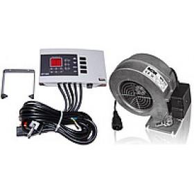 Комплект автоматики для твердотопливного котла Tech ST-22 Sigma+вентилятор WPA 117