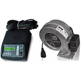Комплект автоматики для твердотопливного котла Tech ST-28+вентилятор WPA 117