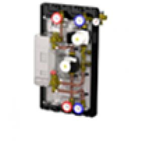 """Насосный модуль с теплообменником Novasfer NOVAFILL 20 пластин 3/4"""" насосы WILO 15/6, 2-12 л/мин"""