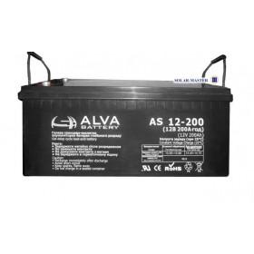 Аккумуляторная батарея AS12-200 ALVA