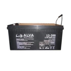 Аккумуляторная батарея AW12-200 ALVA