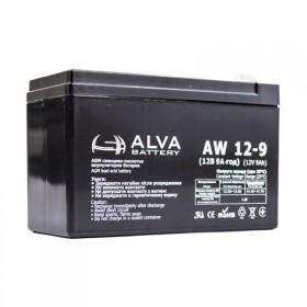 Аккумуляторная батарея AW12-9 ALVA