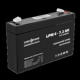 Аккумулятор AGM LogicPower LPM 6-7,2 AH