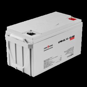 Аккумулятор гелевый LogicPower LPM-GL 12 - 65 AH