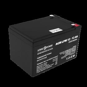 Аккумулятор кислотный AGM LogicPower LPM 12 - 12 AH