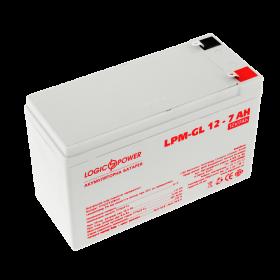 Аккумулятор гелевый LogicPower LPM-GL 12 - 7 AH