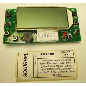 Плата индикации DTM20B v1.0 ZOOM MASTER PU76C2 Б/У
