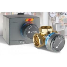 """Комплект для регулирования Afriso ProClick ARV 386 клапан трехходовой Rp 1 1/2"""" DN 40 + электропривод ARM323 (арт. 1338642)"""