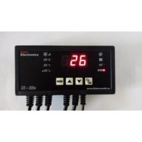 Автоматика для твердотопливных котлов Inter Electronics IE-28n