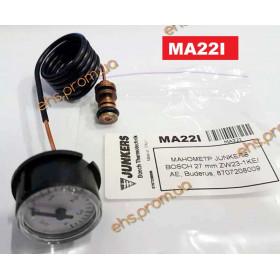 МАНОМЕТР JUNKERS BOSCH ZW23-1KE/ AE, Buderus ; Производитель : CEWAL - Код товара : MA22I