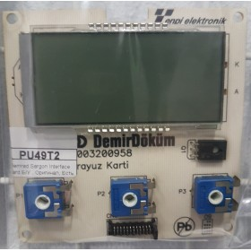 Demrad Sargon Interface Board Б/У , Оригинал, Есть Гарантия