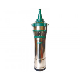 Погружной дренажный насос SHIMGE QDY3-55/4-1.5K2 1500Вт Hmax=67м Qmax=5куб.м/час