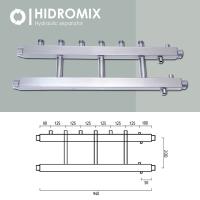 Коллекторная балка Hidromix 3 выхода в вверх до 75 кВт