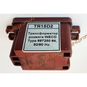 Трансформатор розжига INECO Type 697250 64, 50/60 Hz.