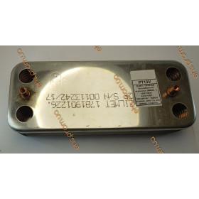 ZILMET 17B1901226 Теплообменник вторичный ARISTON UNO (995945), FONDITAL TAHITI