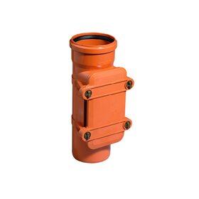 Ревизия ПВХ канализационная Ostendorf KG 110, c прямоугольным люком