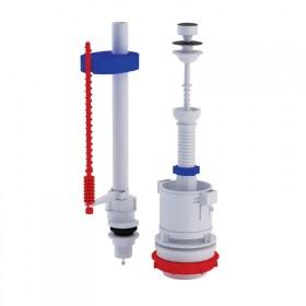 Арматура ANI Plast WC4550M с клапаном нижней подачи 1/2