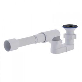 Сифон ANI Plast Е015-E016 для душевого поддона, выпуск 70 мм выход 50 мм