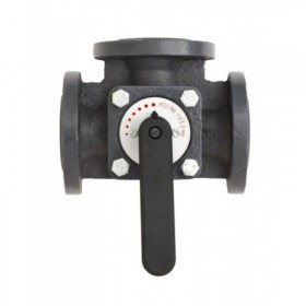Клапан чугунный трехходовой поворотный Danfoss HFE3 DN100 065Z0435