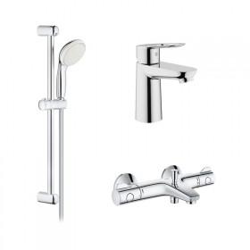 Grohe GRT800+BauLoop 34550TS набор смесиелей для ванной (23337000+34567000+27598001)