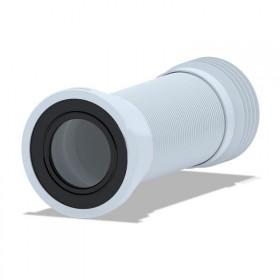Гофра ANI Plast К928 для унитаза армированная d 110 мм, длина 230 мм - 500 мм