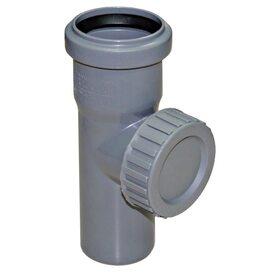 Ревизия PPR канализационная Ostendorf HT-Safe 125