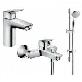 Набор для ванной комнаты Hansgrohe Logis 71400111 (71400000+71100000+26553400)