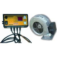 Комплект автоматики ATOS+вентилятор WPA X2/117/120 для твердотопливного котла