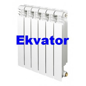 Биметаллический радиатор Ekvator 76/500